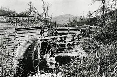 Old Water Mill near Berea