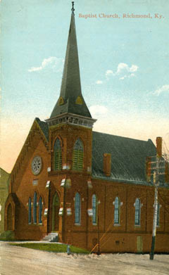 First Baptist Church,