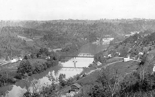 Clay's Ferry Bridge over the Kentucky River